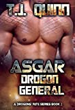 Asgar - Drogon General: SciFi Alien Soul Mates Romance (A Drogons Fate Series Book 3)