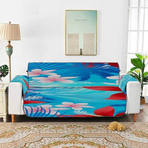 Wyywcy plumeria fiore tropicale morbida sofa cover t cuscino del divano copridivano cover up 66