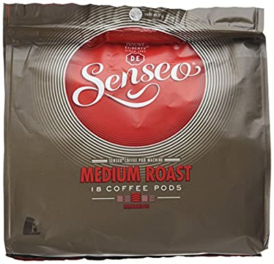 Douwe Egberts Senseo Medium Roast Coffee 18 Pads (Pack of 5, Total 90 Pods)