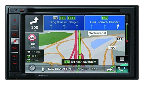 Pioneer AVIC-F970BT GPS Système de Navigation + Ecran Rétractable Europe Fixe, 16:9