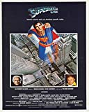 postercinema Superman The Movie - Affiche de qualité - cm. 30 x 40