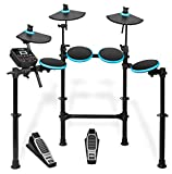 Alesis DMLITEKIT Five-Piece Electronic Drum Set(Black/Blue)