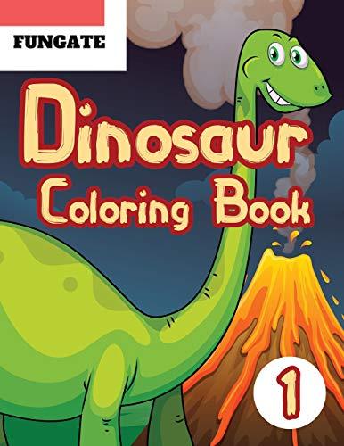 Dinosaur Coloring Book: Fantastic Dinosaur Coloring Book for Boys, Girls, Toddlers, Preschoolers, Jumbo Dino Coloring Book For Children (dinosaur colouring book, Band 1) (Mcdonalds Spiderman)