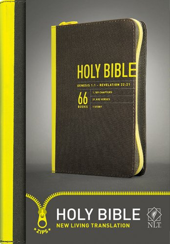 Compact Bible-NLT-Zipper Closure (Zips)