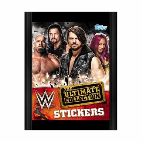 10x-topps-wwe-the-ultimate-collection-5-sticker-packs