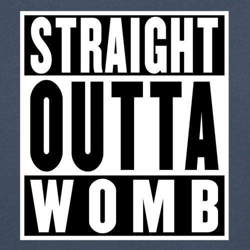 Straight Outta Womb - Herren T-Shirt - 13 Farben Navy
