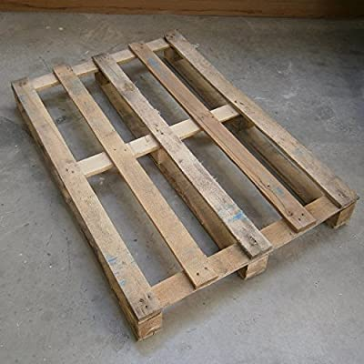 Handmade Rustic Recycled Pallet 4 Shelf Display and Storage Unit