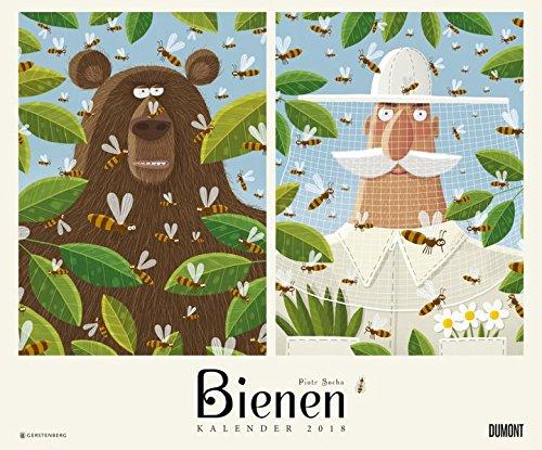 Bienen 2018 – DUMONT Kinderkalender – Wandkalender 58,4 x 48,5 cm – Spiralbindung