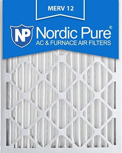 Nordic Pure 20x 25x 2M12-3Merv 12Bundfaltenhose Klimaanlage Ofen Filter, Box von 3von Nordic Pure