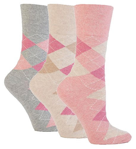 3-pairs-of-ladies-sock-shop-gentle-grip-patterned-socks-various-designs-colours-ladies-uk-size-4-8-p