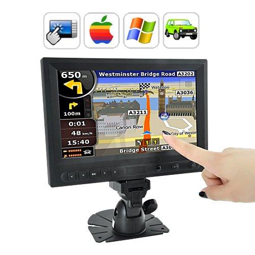 BW 8pulgadas LCD pantalla táctil Monitor AV VGA