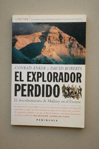 El explorador perdido: El descubrimiento de Mallory en el Everest (LIMITES)