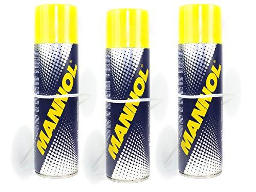 MANNOL Air Conditioner Cleaner Klimaanlagenreiniger Desinfektion 3 Stück á 520 ml