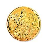 #10: Joyalukkas BIS Hallmarked 4 grams 22k (916) Yellow Gold Precious Coin
