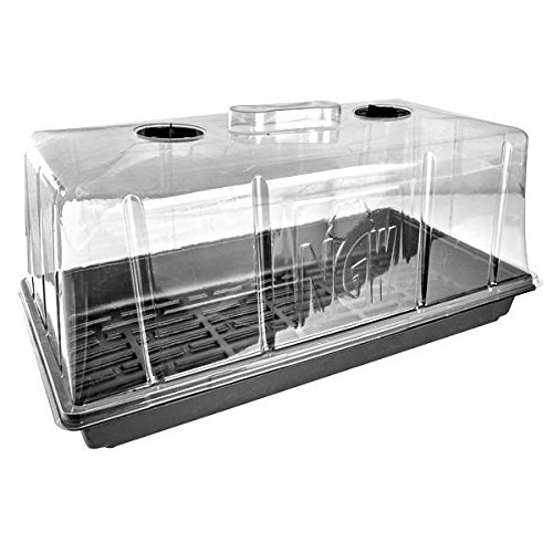 Mini serra/germinatore ventilata - 54x28x25cm
