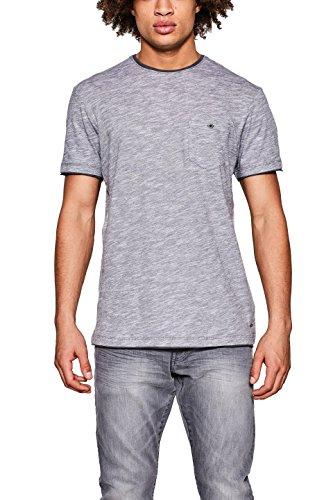 edc by ESPRIT Herren T-Shirt 998CC2K815, Grau (Medium Grey 035), XX-Large