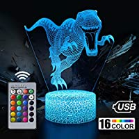 Nice Dream Dinosaur Night Light for Boys