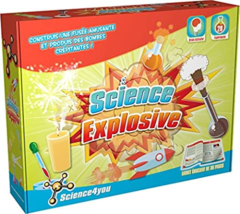 Science4you La Science Explosive Jouet éducatif et scientifique STIM