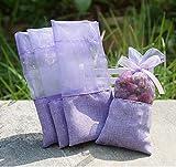 TooGet leere Taschen Leinen Stoff Taschen Organza Gaze Bags 7.5cm x 15cm, 12er-Pack