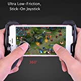 SELUXU Game Controller Mobile Phone Joystick Grip Extended Handle Ultra-Portable Stretchable Gamepad
