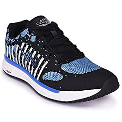 Campus Civic Black Running Shoes