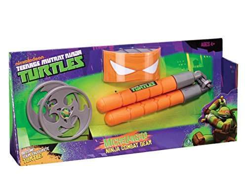 Giochi Preziosi 920330 - Teenage Mutant Ninja Turtles - Michelangelo Verkleidung, Ninja Gear  [UK (Kostüme Michelangelo Nunchucks)