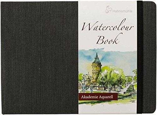 Aquarellbuch, Landschaftsformat 200 g/m², 30 Blatt/60 Seiten, A5