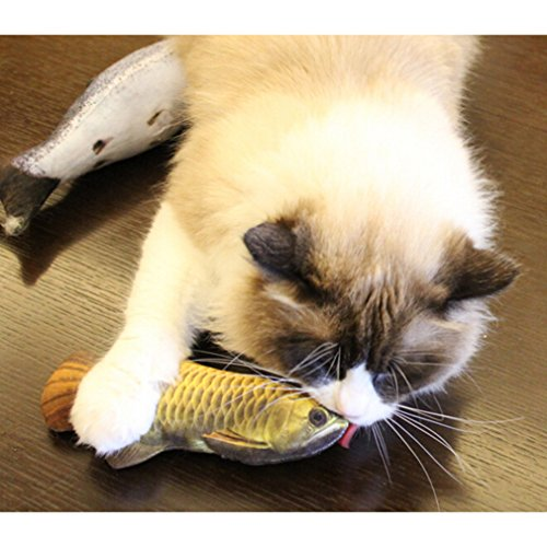 Catnip Cat Toy Fish