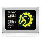 DREVO Zeus SSD Solid State Drive 128GB Ultimate SATAIII Lettura 560MB/S Scrittura 500MB/S 128MB DRAM