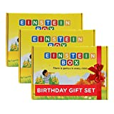 #9: Einstein Box Birthday Gift Set for 3 Year Old Boys & Girls (3 Boxes)