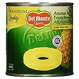Del Monte Ananas Scheiben in Saft, 435 g