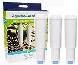 3x Aquahouse AH-CJW Filterkartusche Kompatibel für Jura White Filterpatrone 60209 wasserfilter