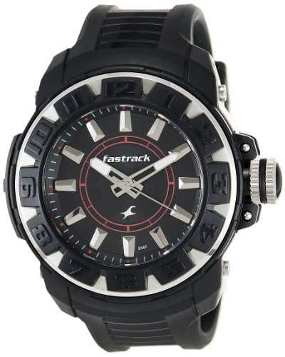 41242d58d Buy Fastrack Men Analog Watch - NK9334PP02 (Black) Online at Lowest ...