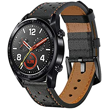 Leafboat Compatible Huawei Watch GT Bracelet,Bracelet de Remplacement 22mm pour Huawei Watch GT Bracelet