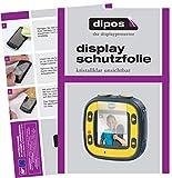 dipos I 6X Schutzfolie klar passend für Vtech Kidizoom Action Cam Folie Displayschutzfolie