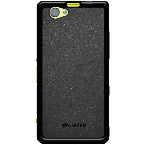 Amzer 96462 Pudding TPU Case - Black for Sony Xperia Z1 Mini  available at amazon for Rs.339