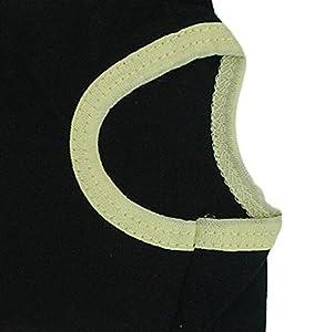 Zrong Vêtement pour Chien/Chat/Animal Domestique Mignon été T-Shirt-Veste-Manteau avec écrits 'SECURITY'