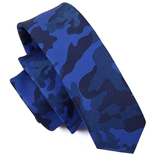 Cravates étroite pour hommes casual de mode