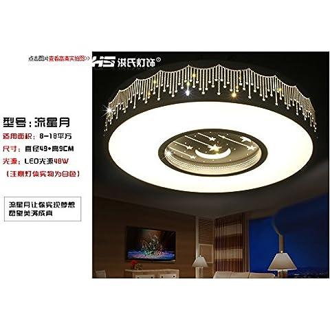 LJJ Hong-LED luce di soffitto 3 a colori a forma di cuore le lampade in ferro minimalista moderno camere da letto , libri per bambini lampade presso il 2002 49CM Meteor 3 a colori