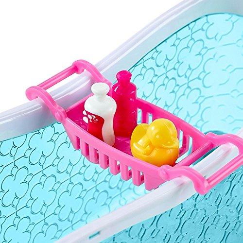 Barbie - Mobili Arredamento Bagno - Vasca da Bagno con la Bambola