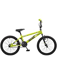 "ROOSTER RADICAL SINGLE SPEED BMX, 20"" WHEEL, GREEN/BLACK (RS116)"