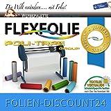 FLEXFOLIE BÜGELFOLIE 1 METER x 500mm POLI-FLEX PREMIUM 464 SAPPHIRE
