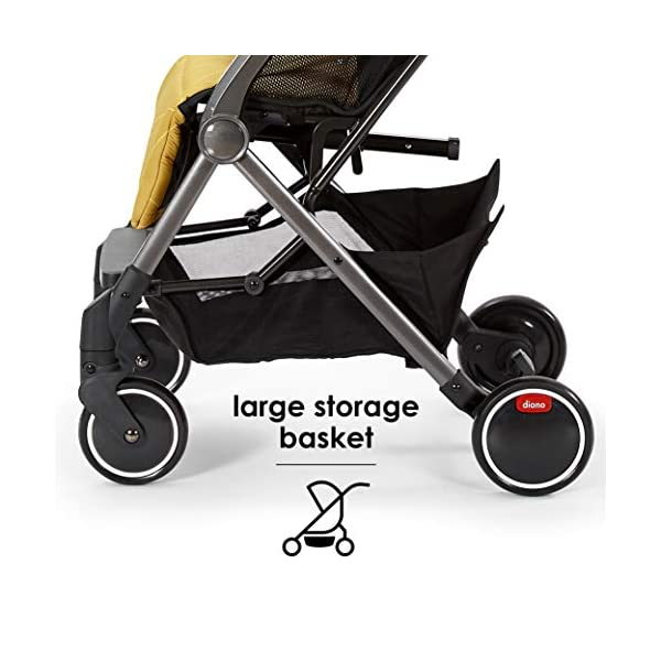 Diono Traverze Compact Luggage-Style Stroller, Black Cube Diono Luggage Style Stroller: Suitable from birth up to 15 kg the Diono Traverse is the original luggage style stroller to make family travel easy Ultra Lightweight: Only 5.6 kg to help you glide through the world, with neat pull along handle just like your luggage! Super Compact Fold = Airplane Friendly: True one hand fold makes traverse super compact to fit most overhead bins 12