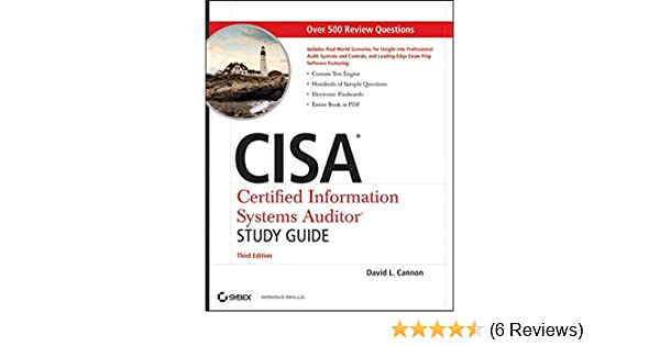 Cisa certified information systems auditor study guide third cisa certified information systems auditor study guide third edition amazon david l cannon 9780470610107 books fandeluxe Gallery