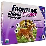 FRONTLINE Tri Act pour Grand Chien 20-40 kg 3 Pipettes