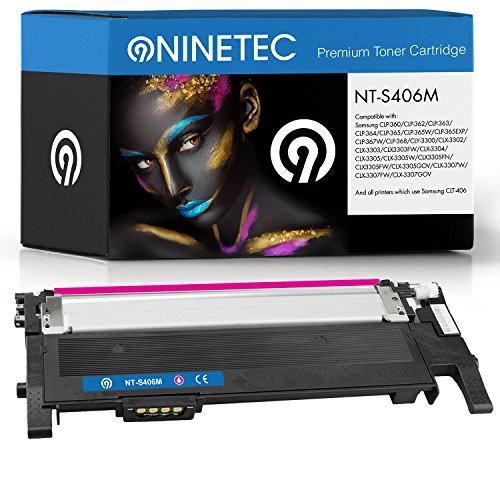 Preisvergleich Produktbild Original NINETEC NT-S406M Toner-Kartusche Magenta kompatibel zu Samsung CLT-M406
