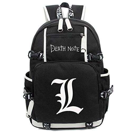 Yoyoshome, leuchtender Rucksack, Anime, Cosplay, Schule, Tasche schwarz Death Note1