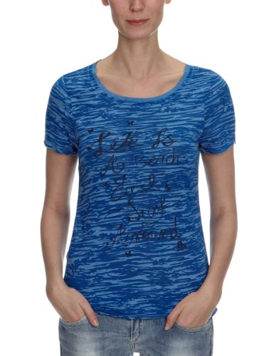 ONLY Damen T-Shirt, 15068014 EVA SS TOP Blau (NAUTICAL BLUE)