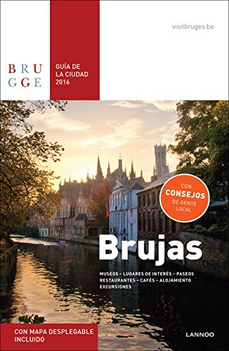 Brujas Guia de la Cuidad 2016 - Bruges City Guide 2016 por Sophie Allegaert