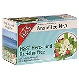 H&S Herz Kreislauf Tee Filterbeutel 20 St Filterbeutel